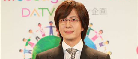 Actor Bae Yong-joon sends aid to Japan