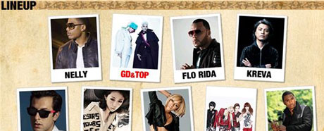 GD T.O.P 2NE1 to perform at music festival in Japan next month