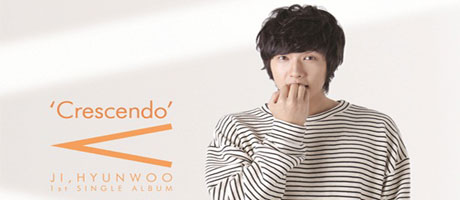 Actor Ji Hyun Woo releases first album, Crescendo