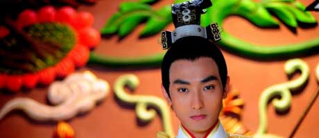 Kangta cast in Chinese historical drama