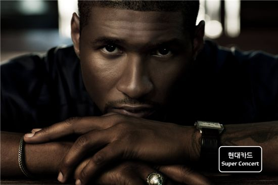 R&B singer Usher to hold first concert in Korea