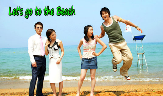 let's go to the beach korean drama