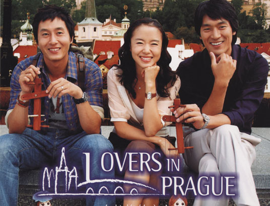 lovers in prague korean drama
